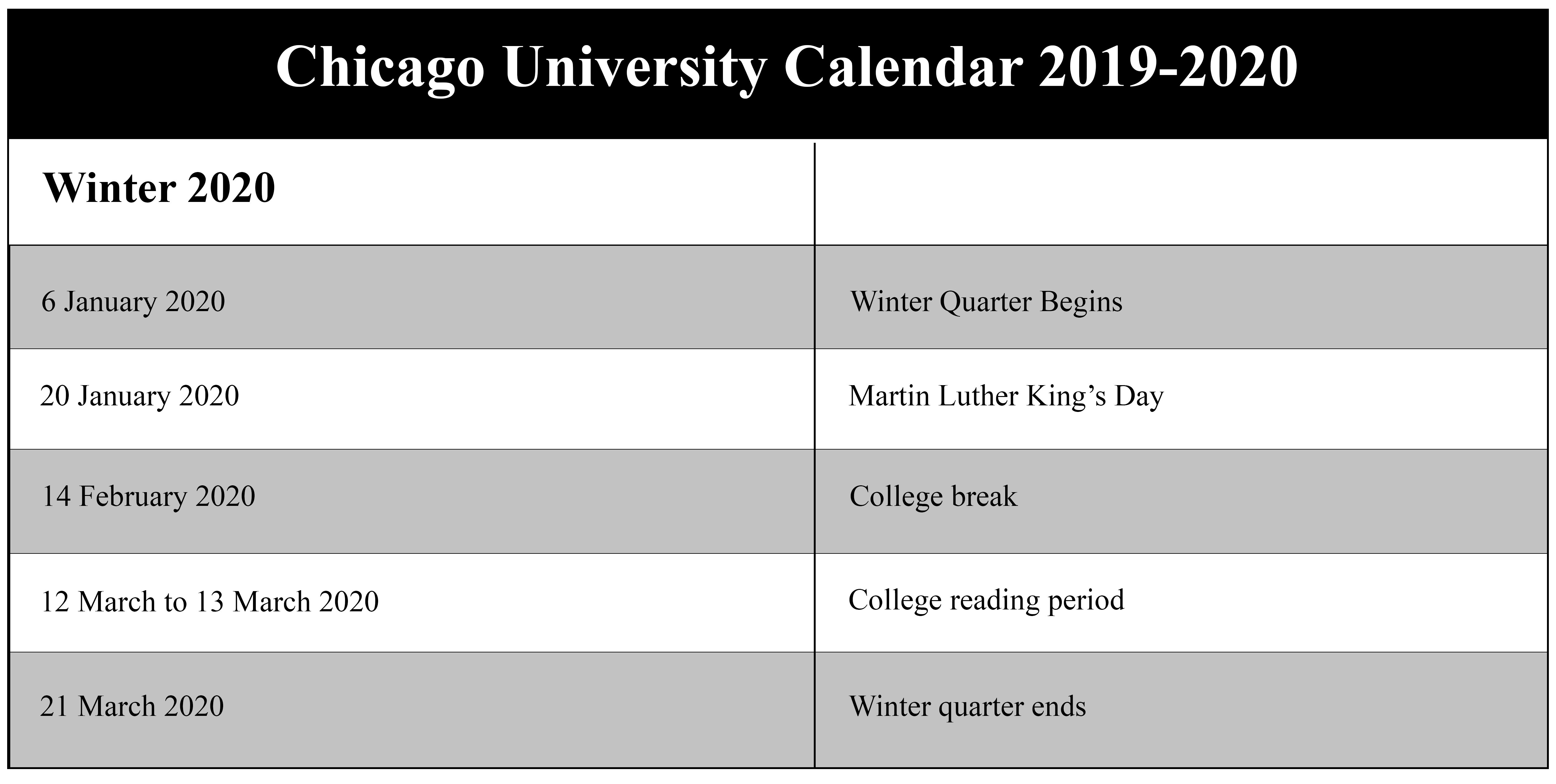 Chicago-University-Terms-2019-2020(winter)