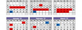 Anniston City School Calendar 2020-2021