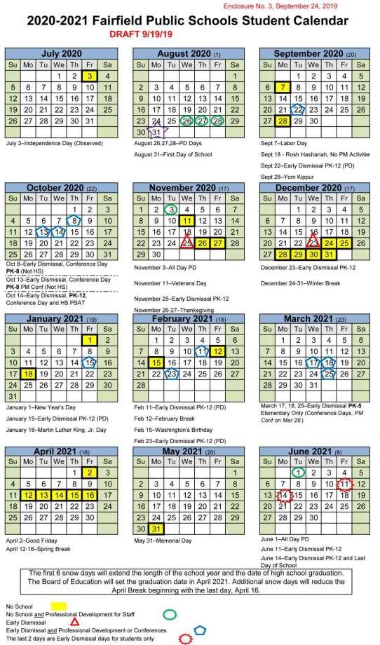 Fairfield University Calendar 2022 2023.Fairfield City School Calendar 2021 And 2022