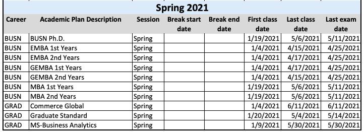 Uva Calendar 2021 😄University of Virginia Academic Calendar 2020 2021😄